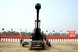 a artillery haubits fh77 indian army