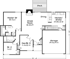 ranch style house plan 2 beds 00 baths 1400 sq ft 320 328 fine plans 4