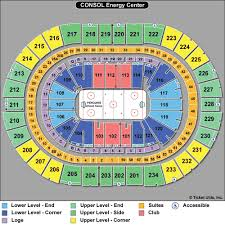 Ppg Paints Seating Chart Hockey Ppg Paints Arena Section 207 Seat Views Precise Ppg Paints