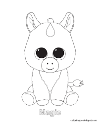 Small Picture magic beanie boo coloring pages