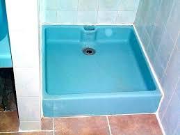 refinishing a shower fiberglass shower refinishing showers fiberglass shower pan refinishing fiberglass shower refinishing diy refinish