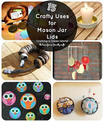 Mason Jar Lid Decorations 60 Mason Jar Lid Crafts 2