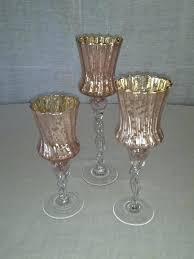 fnd pnk votve mercury glass hurricane candle holders red wearenear