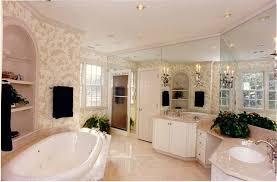 large master bathroom plans. Large Master Bathroom Ideas With Floral Wallpaper Plans O