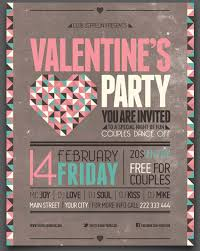 share the love 49 valentine s day templates flyers and cards valentines day party event flyer template