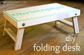 diy folding desk jaime costiglio