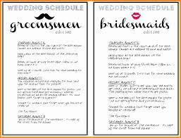 Wedding Timeline Classy Wedding Weekend Itinerary Template Free Luxury 48 Wedding Reception