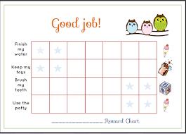 Childrens Reward Charts Free Under Fontanacountryinn Com