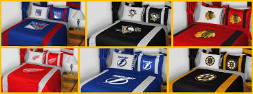 choose your nhl team for bedding sets comforter sheet sets more up to 75 off plus free deal plus extra savings at checkout