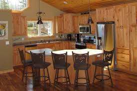 Rustic Beech Cabinets Kitchen Cabinets Flooring Windows Fireplaces Bemidji Mn