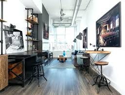 industrial style home office. Loft Industrial Furniture Home Office Photo  Style Ideas .