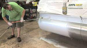 best aluminum pontoon cleaner for 2021