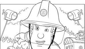 Kleurplaten Van Brandweerman Sam