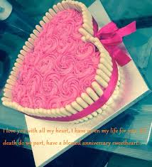 Wedding Anniversary Cute Cake Images Wishes For Wife