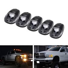 Led Cab Lights Us 25 52 12 Off Black Smoked Lens Led Cab Roof Top Marker Running Lights For 4x4 Atv 4wd Suv Truck Utv Ute Car Dome Light Amber Yellow Car Lamp In