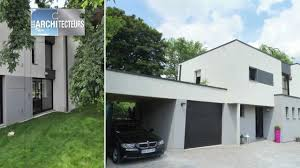 Maison Moderne Forme Cubique Chaios Com