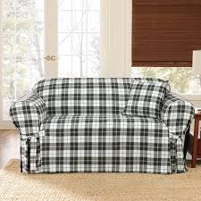 Small Modern Living Room Design 1 Piece Sure Fit Loveseat Slipcover With Wingback For Small Rustic