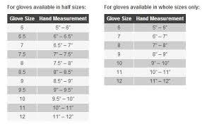 Held Motorcycle Glove Size Chart Sierra Bmw Motorcycle