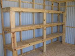 exquisite garage shelving plans for home decor ideas with wooden garage shelves and simple garage shelves