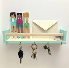 Ikea Spice Racks For Key And Mail Organizer