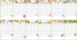 Small Printable 2020 Calendar Free Floral 2020 Printable Calendar On Sutton Place