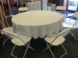 60 inch round tablecloth thanksgiving x 120 to the floor white 84