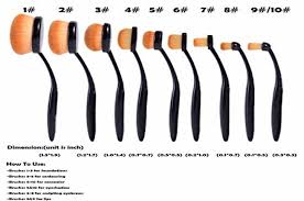 oval makeup brushes and their uses. ohuhu 10 pcs oval makeup brush sets brushes and their uses