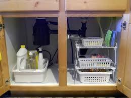 Kitchen Sink Shelf Organizer Choosing The Best Of Kitchen Cabinet Organizers Home Design Lover