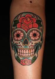 Mexican Cranium Tattoo Which Means Traits Nexttattoos