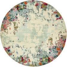 8 x 8 spectrum round rug