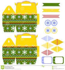 christmas gift box template stock vector image  christmas gift box template stock photography