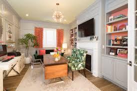 feminine home office. Photo Via: Asdinteriors.com Feminine Home Office