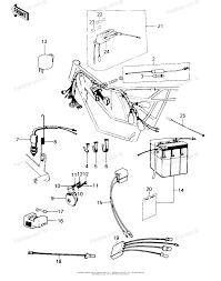 Kawasaki motorcycle 1978 oem parts diagram for chassis electrical kawasaki motorcycle 1978 oem parts diagram for chassis electrical equipment partzilla
