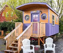 tiny house hotel. take a walk around the gypsy wagon tiny house with our virtual tour that provides you 360-degree view of space. use arrows to into hotel