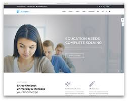 Templates For Education 30 Best Free And Premium Education Website Templates 2019