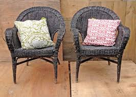 outdoor wicker chairs melbourne. sold as a pair of two black wicker chairs for by rosesupcycled outdoor melbourne
