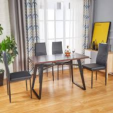 Amazoncom Modern Dining Table Dining Chair For Customized