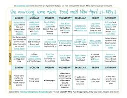 weekly meal planning for two bi weekly meal plan for april 27 may 10 the better