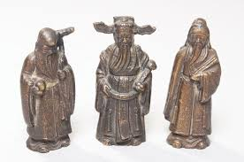 Image result for bronze antique noblemen chinese gods