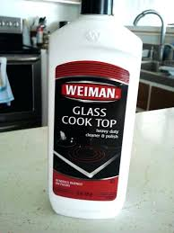 clean glass cooktop with baking soda cleaning glass wonderful kitchen stove the how to clean a
