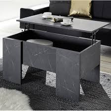 taze lift up storage coffee table in
