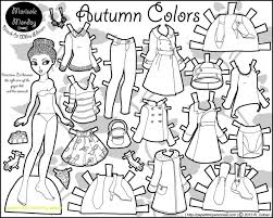Add glitter and sequins or yarn and. Paper Doll Clothes Coloring Pages Coloring Home