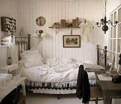 Black And White Shabby Chic Bedroom Ideas 3