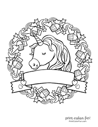 The best selection of royalty free unicorn coloring vector art, graphics and stock illustrations. Top 100 Magical Unicorn Coloring Pages The Ultimate Free Printable Collection Print Color Fun