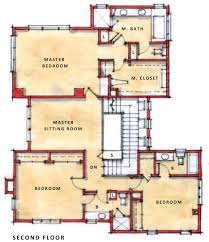 Small Picture two story house floor plans House Floor Plan with Modern Theme