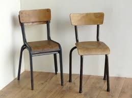 vintage school chairs. Brilliant Vintage Old School Chairs Set Of 3 To Vintage E