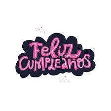 Feliz Cumpleanos Texto Del Español Del Feliz Cumpleaños