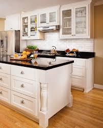 black granite countertops with tile backsplash. Backsplash Ideas For Black Granite Countertops Kitchen White Cabinets Image With Tile H