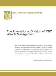 rbc wealth management financial wealth rbc wealth management financial wealth
