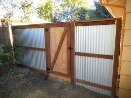 how to build a corrugated metal fence best corrugated metal privacy fence how to build a